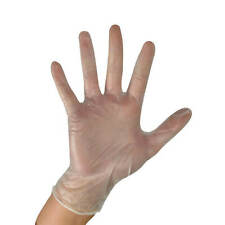 Clear Vinyl POWDER FREE Disposable Gloves Loose, Small, Medium, Large XL