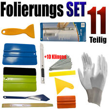 Folierung Rakel Set 11 Teilige Set - PROFI FOLIERUNGS SET  - Auto Folien