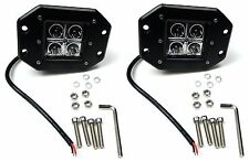 2x 20W Cree LED Work Light Bar Flood Lamp Driving Fog Offroad Car SUV 4WD