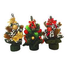 Sapin artificiel de Noel Decoration Cadeau Decor Ornement Table Maison Noel 4 WT