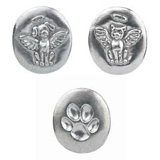 Chelsea Pewter Jewelry - Pet Lover Memory Tokens (Set of 3) Dog Cat & Paw Print