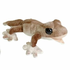 RAINFOREST BROWN GECKO STUFFED ANIMAL PLUSH TOY 25cm **FREE DELIVERY**