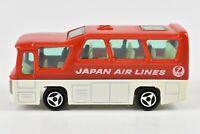 Majorette Minibus JAL Japan Air Lines Coach Airport Bus 1:87 Scale France #262
