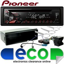 Volkswagen Polo MK4 2002-2006 Pioneer CD MP3 AUX USB Stereo Player & Fitting Kit