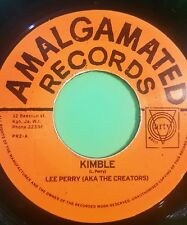 AMALGAMATED RECORDS KIMBLE LEE PERRY 45