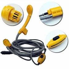 Indoor / Outdoor 12V Portable pressure washer automobile Shower set