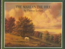 AUTOGRAPHED VG 1985 HC DJ The Mare on the Hill by Thomas Locker