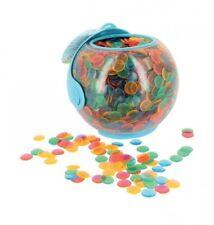 Caja casco 3000 fichas marcado para Loto FICHAS multicolor 15 mm 01446