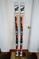 ROSSIGNOL RADICAL GS SKIS SIZE 158 CM WITH DYNASTAR BINDINGS