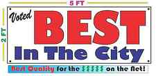 Voted Best In The City Banner Sign New