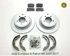 For Jeep Compass & Patriot MK Rear Brakes Repair Kit 302mm 2007-17