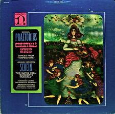 CHRISTMAS:PRAETORIUS+SCHEIN NIEDERSACHSISCHER SINGKREIS+F.CONRAD ENSMBLE ST33LP