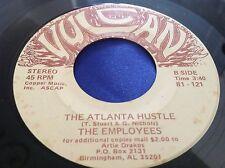 Hear Rare Funk Soul Boogie 45 : The Employees ~ The Atlanta Hustle ~ Vulcan 121