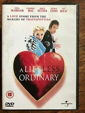 Ewan McGregor Cameron Diaz A LIFE LESS ORDINARY ~ Danny Boyle Cult Film | UK DVD