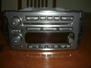 2006-2010 Gm Hummer H3 H3T Chrome MULTI 6 Disc Cd Player AmFm Radio 15923766