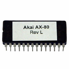 Akai AX-80 Rev L firmware OS update EPROM Latest O.S AX80