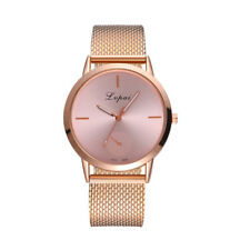 Womens Ladies Bracelet Silicone Strap Unisex Dial Analog Quartz Wrist Watch VS