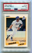 1990 Fleer George Brett #103 PSA 10 Gem Mint ROYALS (CBF082)