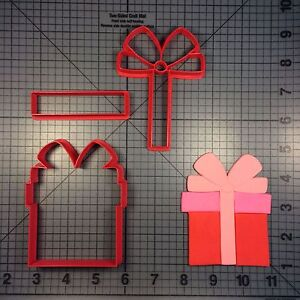 Present 101 Cookie Cutter Set