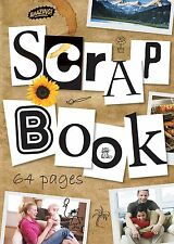 Scrapbook Jumbo Extra Large Scrap Book Cutting Craft Album 64 Pages - Pack 2