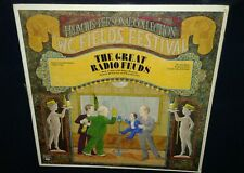W.C. FIELDS, The Great Radio Feuds, COMEDY VINYL LP (VG) COVER IN SHRINK-WRAP