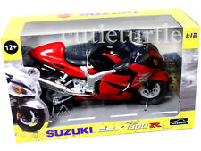Automaxx 600202 Suzuki GSX 1300R Hayabusa Bike Motorcycle 1:12 Red black