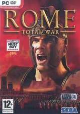 Rome Total War - PC DVD - Brand New and Factory Sealed