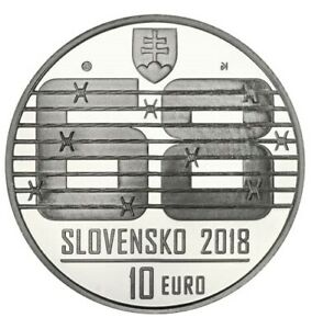 #RM# 10 EURO COMMEMORATIVE SLOVAQUIE 2018 - May of 1968