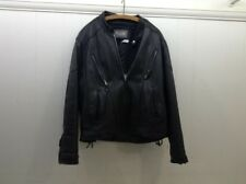 Wilsons Leather Mens Thinsulate Leather Motorcycle Jacket Size XL