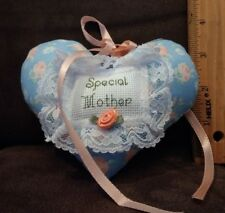 """""""special mother"""" plush heart  (4*5 in)"""