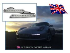 2005-2008 PORSCHE BOXSTER 987 LED DRL Daytime Running Lights CLEAR / SMOKED - UK