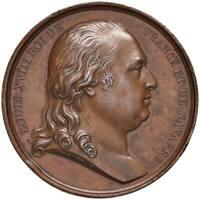 s1092) FRANCIA Luigi XVIII (1814-1824) Medaglia 1814 - AE Op: Andrieu Ø 40