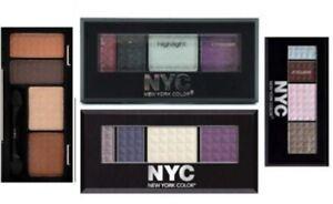 NYC metro quartet eye shadow palettes  Various shades