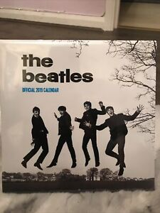 The Beatles Fab Four Official Calendar 2019 Official Licensed Product