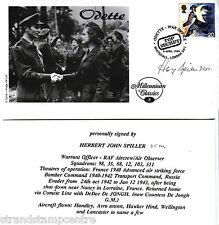 """1999 Coloni-CAMBRIDGE """"ODETTE"""" UFFICIALE-firmato da Herbert J Spiller DFM"""