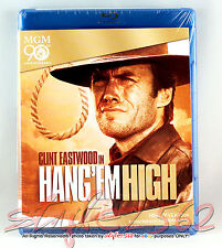 HANG 'EM HIGH (Blu-ray) (1997) Clint Eastwood *BRAND NEW•FACTORY SEALED!!!
