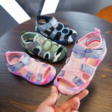 Unisex Kids Summer Outdoor Beach Sports Closed-Toe Sandals Toddler Casual Shoes