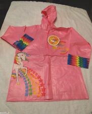 NWT IN PACKAGE RAINBOW BRITE RAINCOAT PONCHO SIZE  MEDUIM 5/6