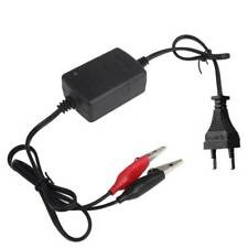 EU Plug 12V Car Motorcycle ATV Smart Compact Battery Charger Tender Maintainer