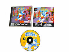 DONALD DUCK QUACK ATTACK complete in box PAL PS1 Sony playstation videogame psx