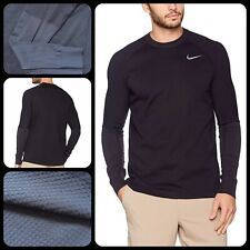 Nike Tech Golf Therma Sphere Knit Crew Sweater Men's   Size L Large   833296 010