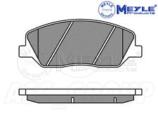 Meyle Brake Pad Set, Front Axle With anti-squeak plate 025 243 5117/W