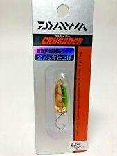 54474) Daiwa CRUSADER Trout Spoon Pure Gold plating finish 2.5g #Green Par G