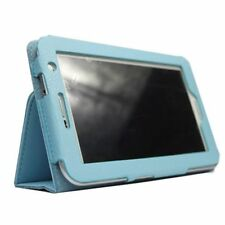 "Ledertasche fuer 7"" Samsung Galaxy Tab 2 P3100/ P3110 Himmelblau S6N2 O8L8"