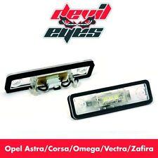 Opel LED Kennzeichenbeleuchtung Kennzeichen Beleuchtung weiß Canbus