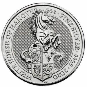 2017 2 oz 999 Silver Queen's Beast Griffin Coin BU Round Coin 777 KEY COIN
