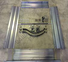 TRAILER PANEL KIT 1800x1200x320mm MILD STEEL WITH RUNNING GEAR! TRAILER PARTS