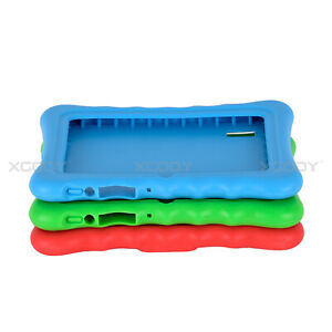 For 7'' inch Tablet PC T73Q Soft Silicone Gel Rubber Shockproof Case Cover