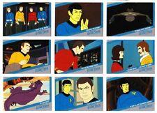 STAR TREK  Quotable Star Trek TOS QUOTABLE 18 CARD ANIMATED ADVENTURES Q1 TO Q18
