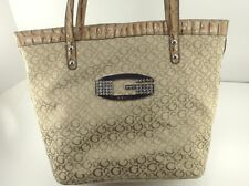 Women's GUESS Large Brown Diamonds G Purse - $78 MSRP - 40% off